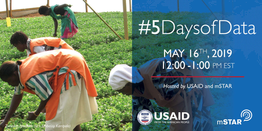 USAID #5DaysOfData Twitter Chat about responsible data