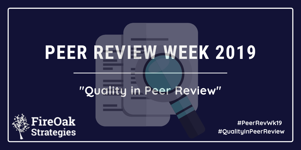 Peer Review Week 2019