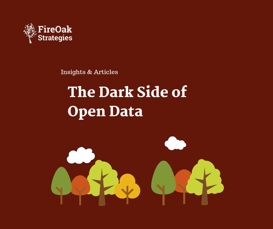 dark side of open data - open data challenges