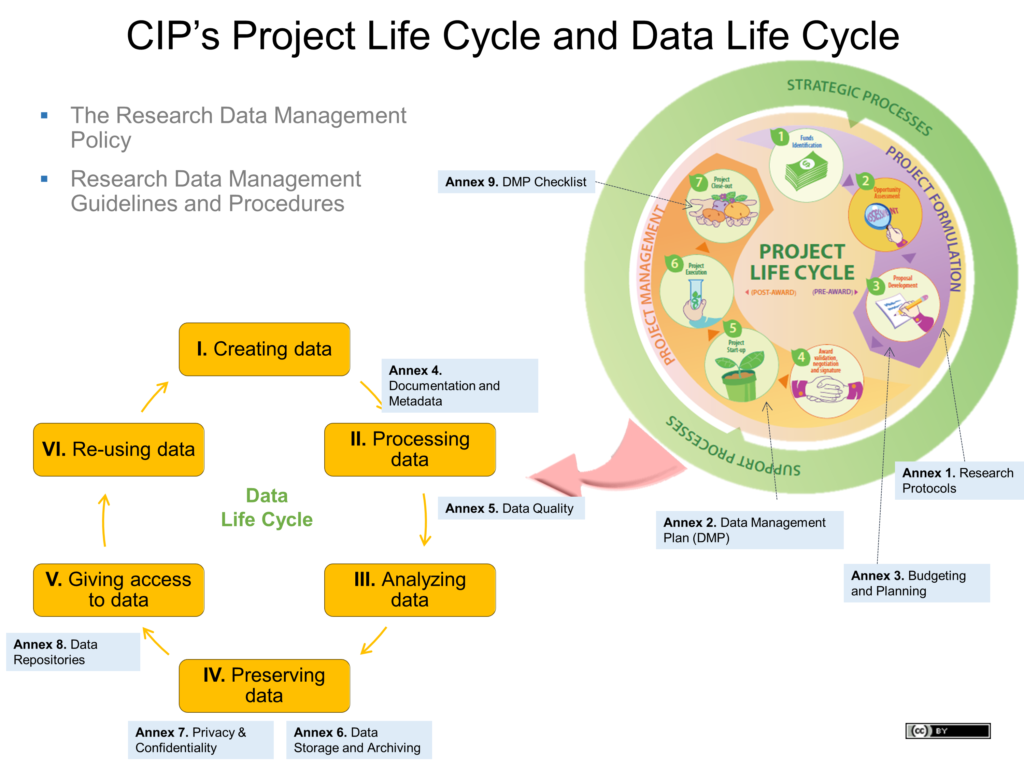 research data life cycle panel - CIP project lifecycle